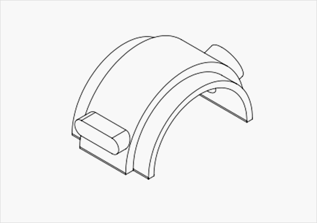 Hamilton Custom Molding Sketch